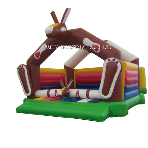 Donkey inflatable bouncy house