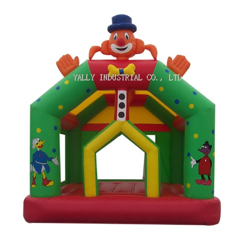 Circus inflatable bouncer