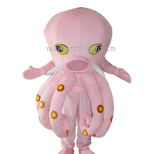 Octopus Cartoon character fancy dress costumes