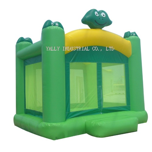 Frog prince inflatable moonwalk