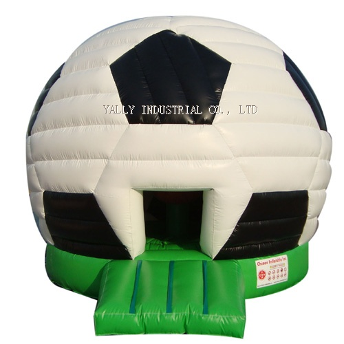 football inflatable moonwalk house