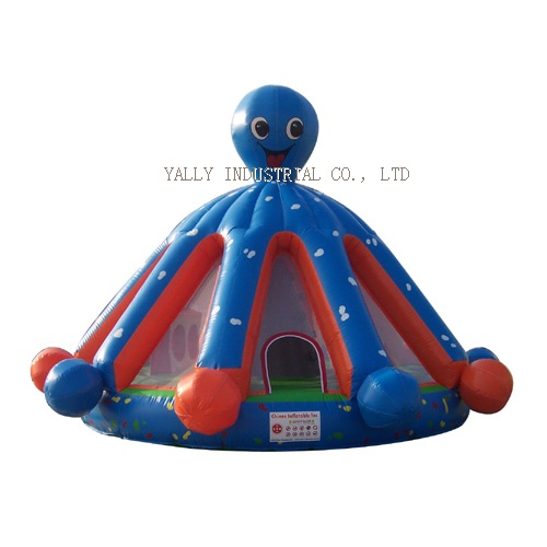 octopus inflatable bouncy house /moonwalk