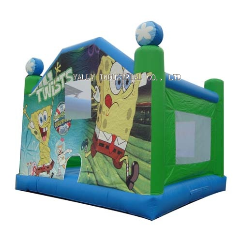 sponge bob inflatable bounce house