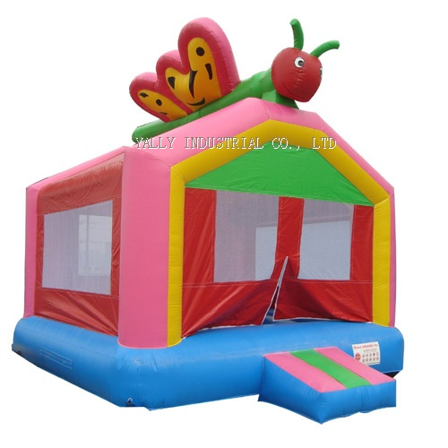 Butterfly inflatable bouncy castle