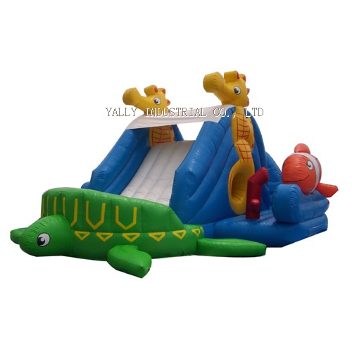 Finding Nimo inflatable water slide