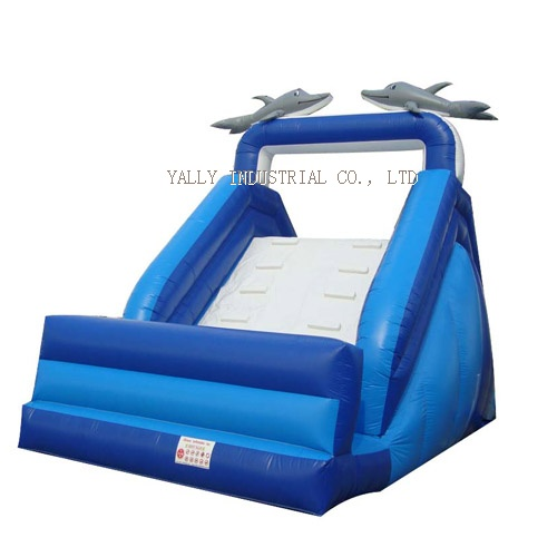 dolphin inflatable slide