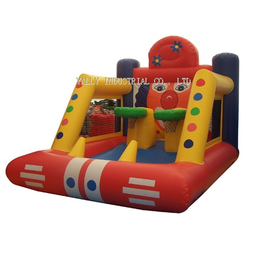 inflatable sport games, inflatable air ball shot