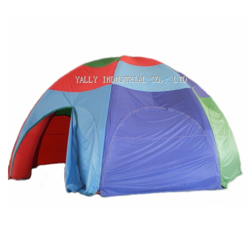 outdoor Round rainbow inflatable party dome tents