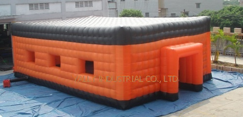 white double layer inflatable event tents for exhibition and party