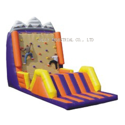 Inflatable Obstacle Climbing Wall, interactive sports
