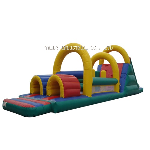 inflatable obstacle course, Inflatable Backyard Obstacle Challenge
