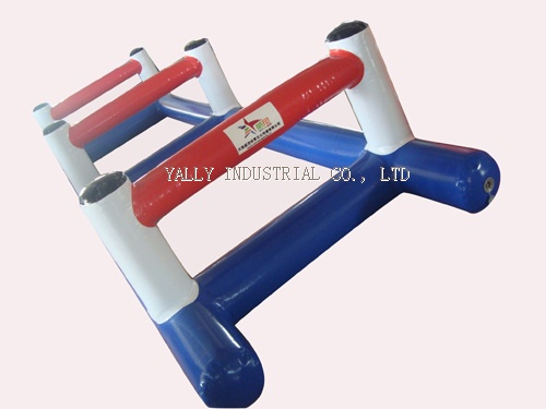 air tight inflatable hurdle games for sport