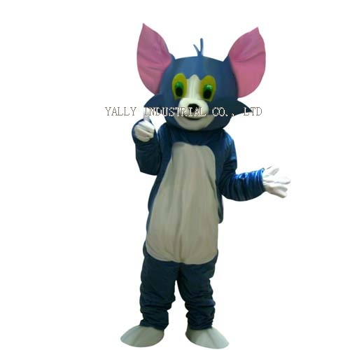 Tom and Jerry Cartoon Character mascot Costume