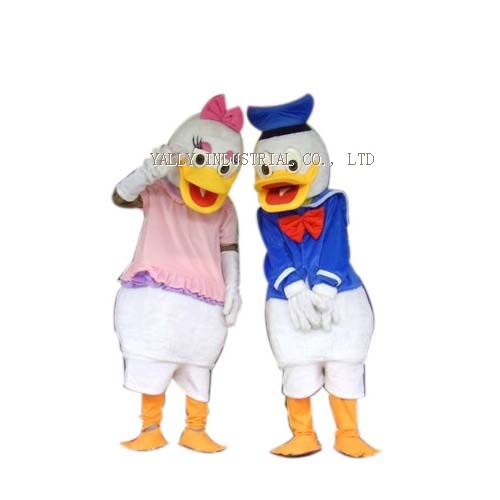 donald and Daisy duck disney character mascot Costumes