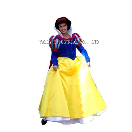 ... white Disney Character Mascot Costume snow white fancy dress costumes