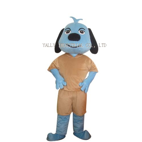 Dog cartoon character Mascot Costume