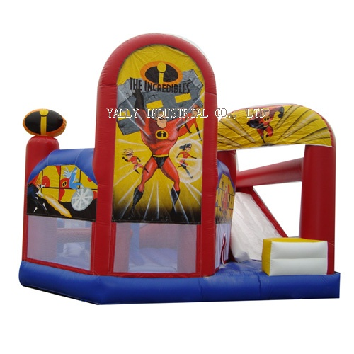 the incrediables inflatable castle