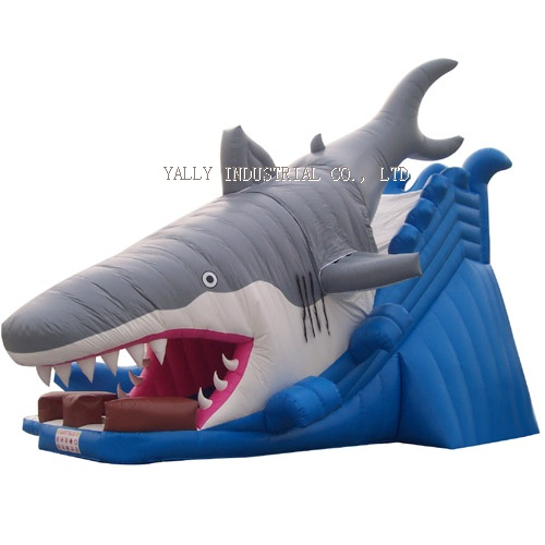big shark inflatable slide/Shark Attack inflatable Slides  sc 1 st  Inflatable Tent & cheap big shark inflatable slide/Shark Attack inflatable Slides ...