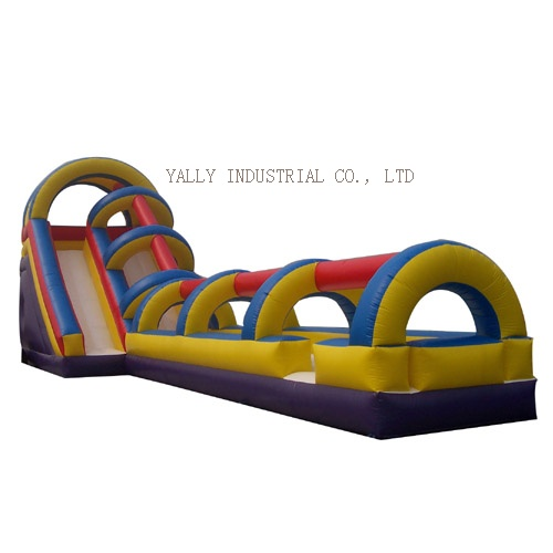 tunnel inflatable slide