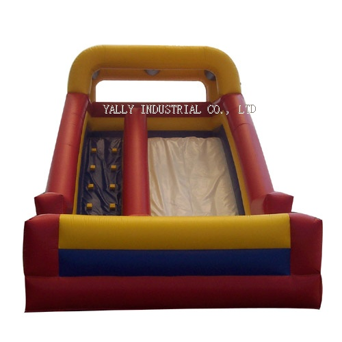 happy summer day inflatable slide