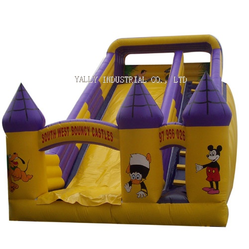 Palace for Mickey inflatable slides