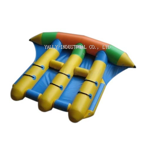 Inflatable fly fish boats