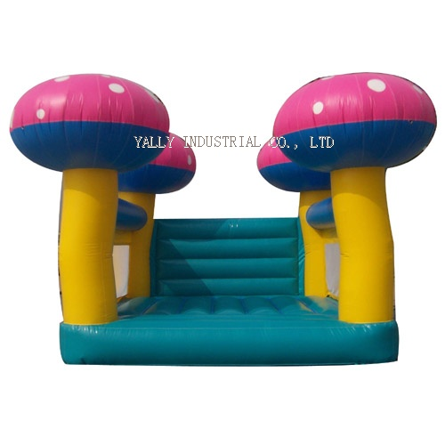 Pink Mushroon inflatable bouncer