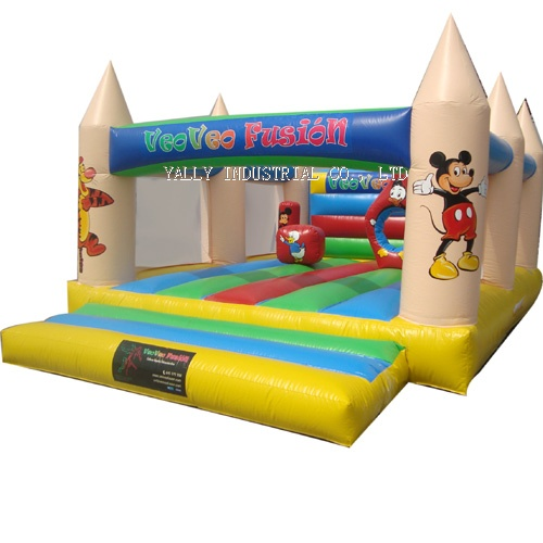 Mikey mouse inflatable jumper
