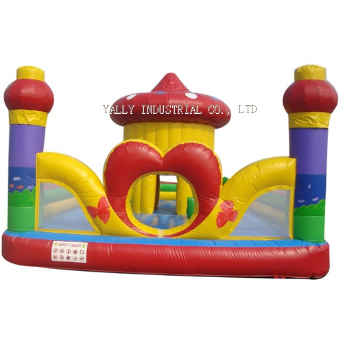heart house inflatable bouncer