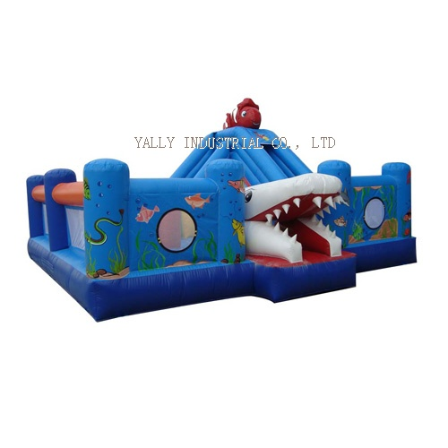 Finding Nemo inflatable funcity/ sea world inflatable interactive & combo