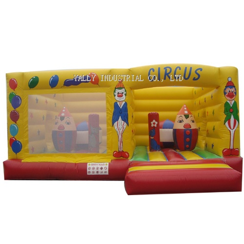 circus inflatable bounce house
