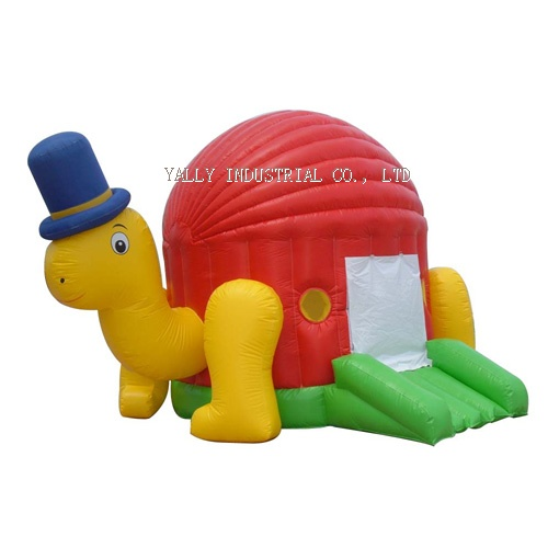 turtle inflatable moonwalk