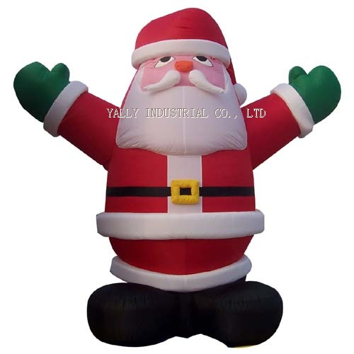 inflatable Santa Clause cartoons decoration