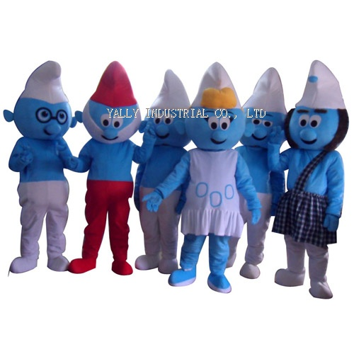 Adult The Smurfs Mascot costumes
