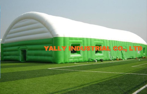 gigantic outdoor inflatable tents for football playground