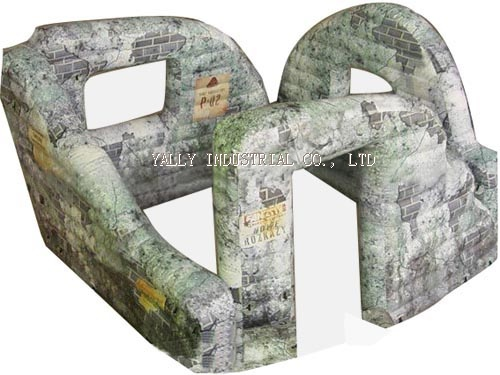 Cheap Inflatable Paintball Bunker Walls For Sale