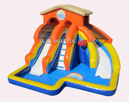 2012 new splash water slide