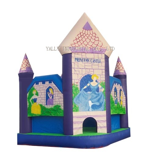 Cinderella inflatable castle