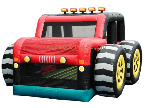 cool car shape kids bouncy inflatable castle for birthday party