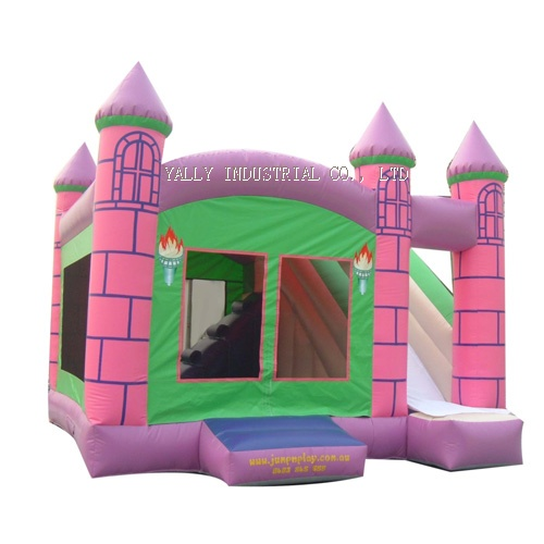 Princess mansion inflatable castle