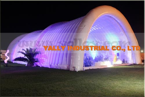 large cheap outdoor inflatable light tent of evening party for sale