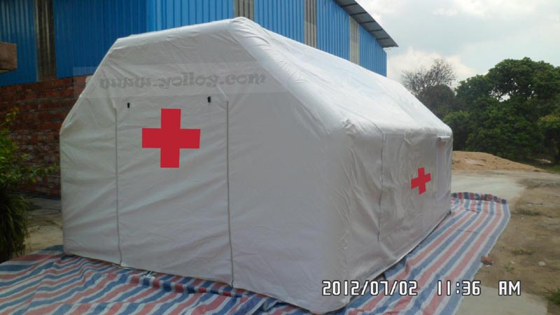 Cheap Big Air Shelter Systems Used As Medical Tent
