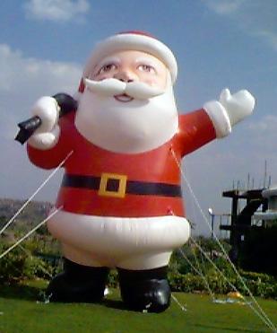 Blow Up Santa Claus Inflatable Outdoor Xmas Santa Inflatable ...