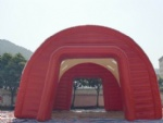 inflatable stucture building tent