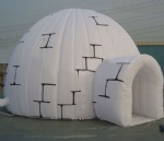 Warped Tour Inflatable Igloo