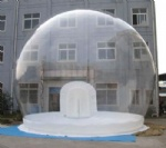 portable performance ball clear inflatable dome