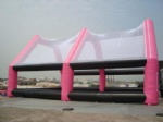Mobile Inflatable paintball filed for paintball bunker games