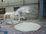 Transparent bubble lawn tent for outdoor camping
