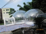 double room clear bubble outdoor camping dome