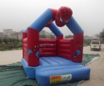 inflatable bouncer spider man jump house
